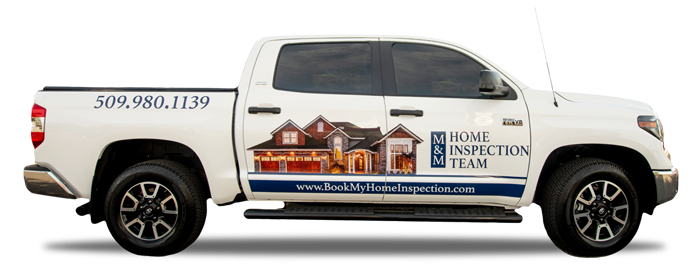 home inspection truck